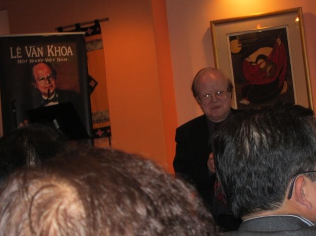 Nhạc Sĩ Lê Văn Khoa và buổi ra mắt sách tại Houston, Texas