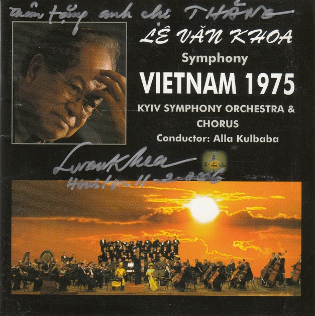 Synphony VIETNAM 1975 ( Hymn to Freedom) KYIV Symphony Orchestra Composer Levankhoa